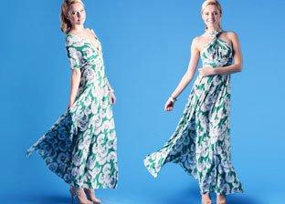 Perfect Spring Dress: Transformer By Von Vonni