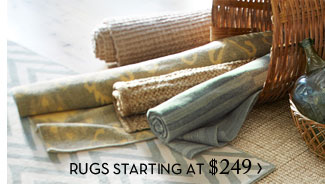 RUGS STARTING AT $249