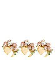 ASOS Multipack Flower Stone Rings