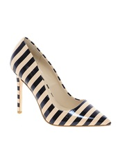 Dune Benefit Stripy Court Shoes