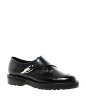 ASOS MOGUL Leather Creepers