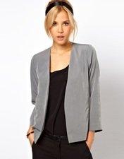 ASOS Cropped Soft Blazer