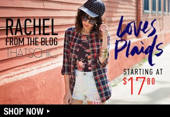 Plaids - Shop Now