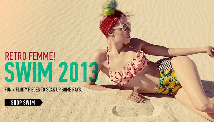 Our New Swim Collection: Retro Femme - Shop Now