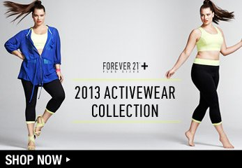 Forever 21 Plus: Sport - Shop Now