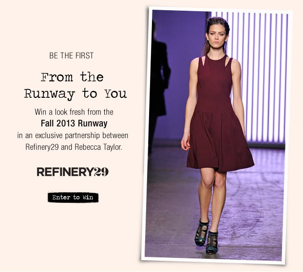 From the Runway to You