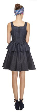 Marc by Marc Jacobs | Tailored Denim Blue Dress