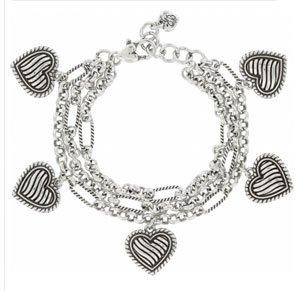 Resort Heart Charm Bracelet
