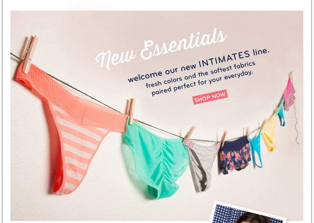 Introducing our New Intimates Line!
