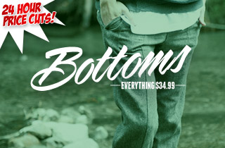 Temporary Price Cut: Bottoms $34.99