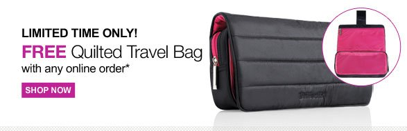 Free Quilted Travel Bag
