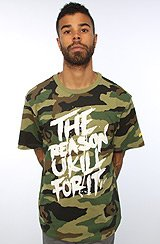 The Respect Few Tee in Camo