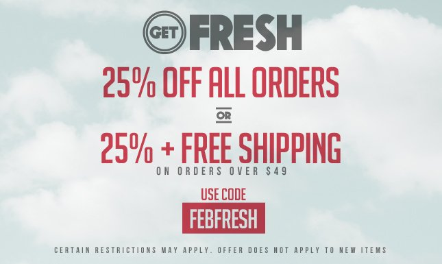25% Off + Free Ship on orders over $49! Shop KL!