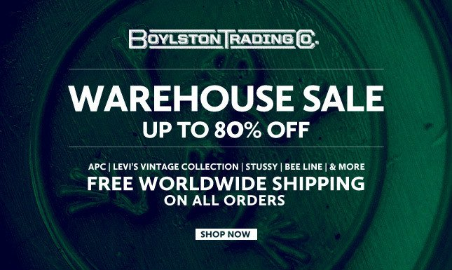 Up to 80% Off at Boylston Trading Co. Shop Sale Today!