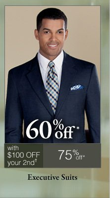 Executive Suits - 60% off