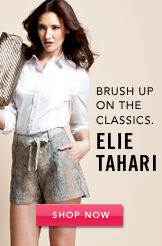 Elie Tahari. Shop Now.