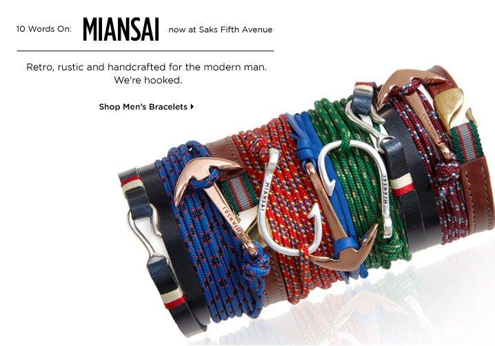 Shop Men's Bracelets