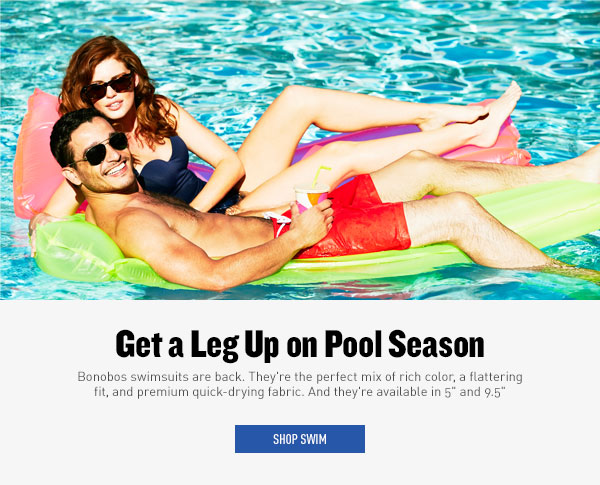 Get a Leg Up on Pool Season
