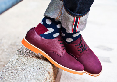 Shop Perfect Pair: Bold Socks & Shoes