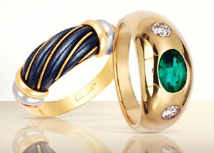 Cartier, Bulgari Gold Jewelry