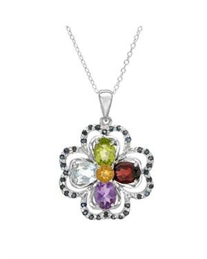 Ladies Necklace Designed In 925 Sterling Silver $39
