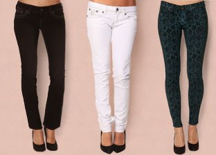 Women's Denim Shop by Miss Sixty, Silver & more