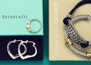 Designer Silver Jewelry: David Yurman, Tiffany & Co. & more