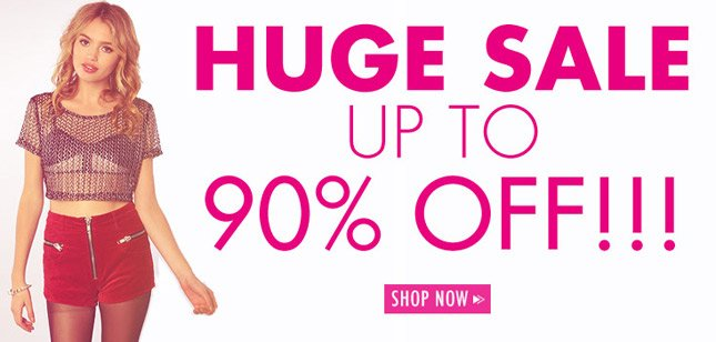 Up to 90% Off Sale Items! Shop Miss KL!
