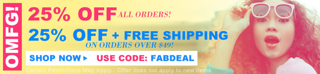 25% Off + Free Ship on orders over $49! Shop Miss KL!