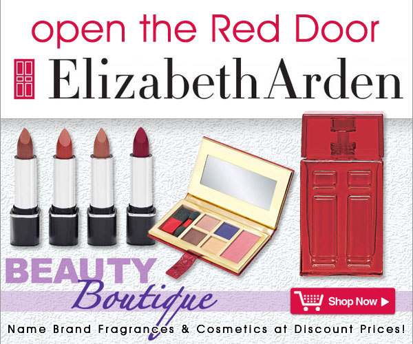 Open the Red Door - Featuring Elizabeth Arden® from Beauty Boutique® - Name Brand Fragrances & Cosmetics at Discount Prices! Shop Now >