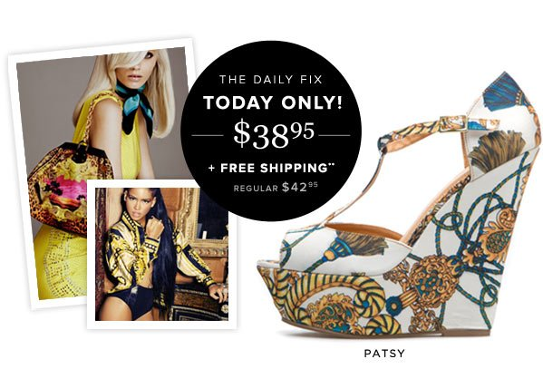 Now Trending: Lavish Baroque Prints, Plus a New Daily Fix - Shop Now