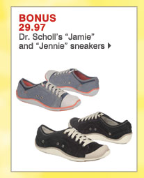 "BONUS 29.97 Dr. Scholl's ""Jamie"" and ""Jennie"" sneakers"