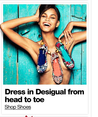 Dress in Desigual from head to toe