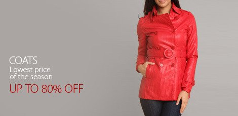 Coats Lowest price of the season