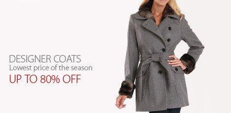 Designer Coats Lowest price of the season