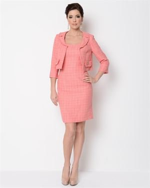 Jones New York Tweed Dress and Jacket Set