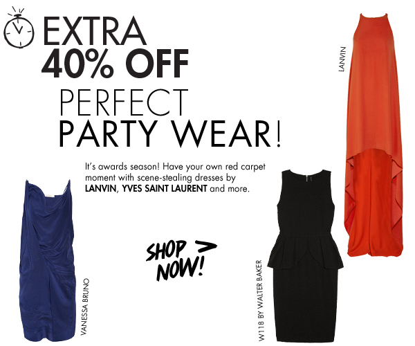 Extra 40% off in the Weekend Shop-In