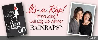 It's a Rap! Introducing Our Leg Up Winner RAINRAPS. Go!