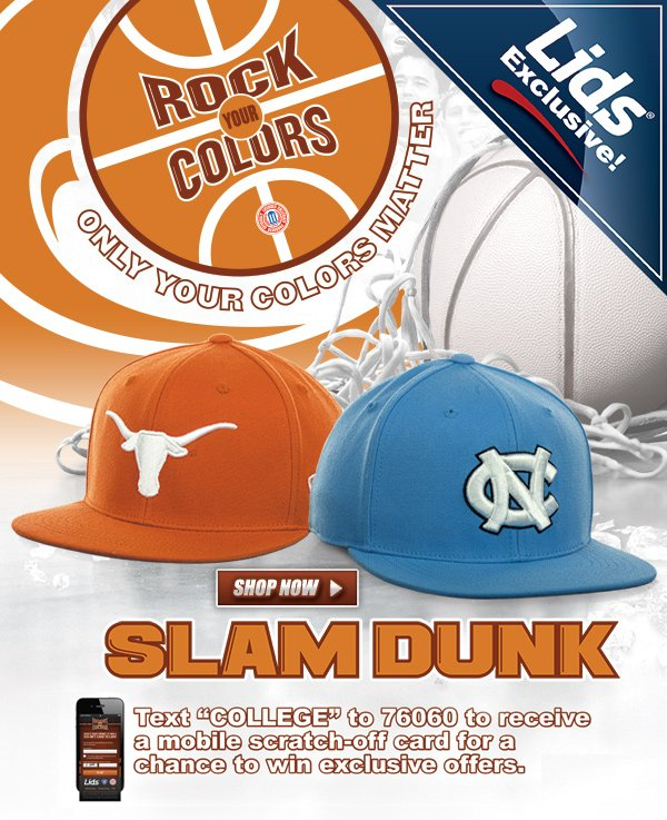 LIDS Exclusive! NCAA Slam one-fit.