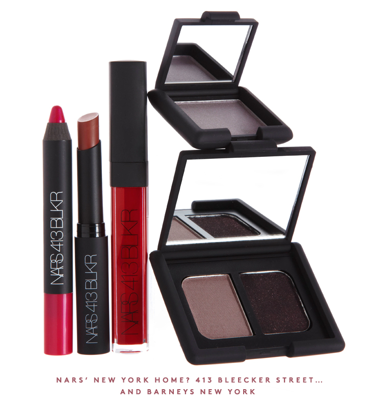 NEW from NARS: Shop the 413 Bleecker makeup collection.