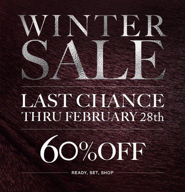 Winter Sale Last Chance