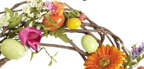 Faux Speckled Egg Wreath $44.95