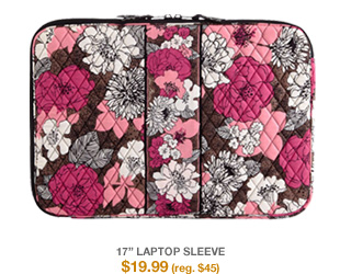 17in Laptop Sleeve $19.99