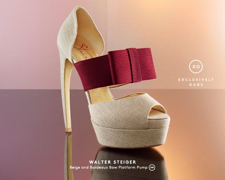 Step up: Shop high heels by Walter Steiger.