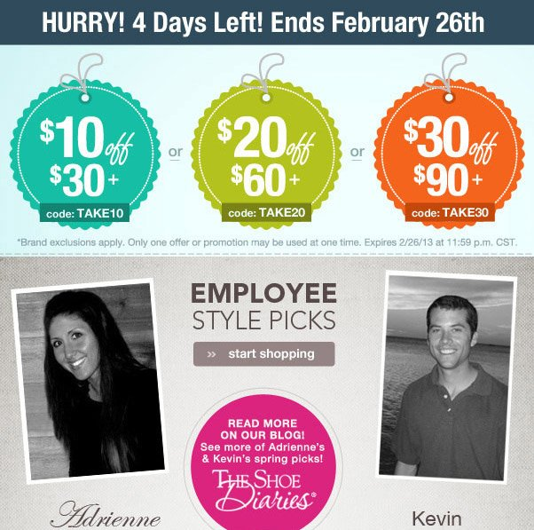 Offer ends Tuesday 2/26!