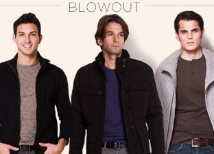 Winter Essentials for Him Blowout