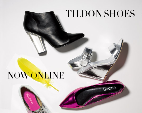 TILDON SHOES - NOW ONLINE