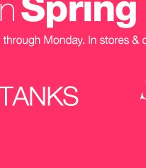 Bring on Spring Sale! Shop now!