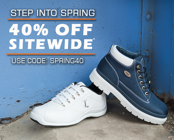 Step Into Spring with 40% Off