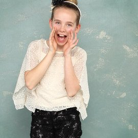 Lovely in Lace: Girls' Apparel